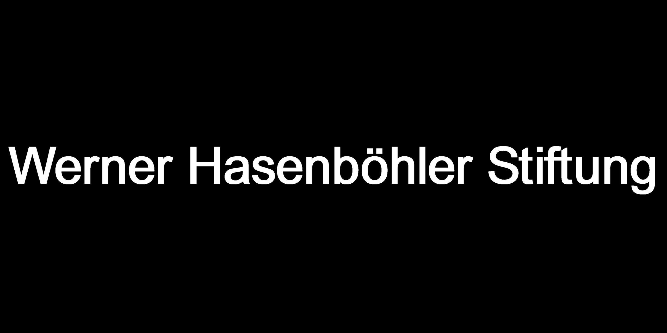 Werner Hasenböhler Stiftung_black